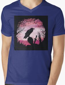 The Raven  Mens V-Neck T-Shirt