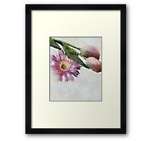 Blooming friends Framed Print