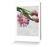 Blooming friends Greeting Card