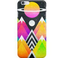 Saturn Peaks iPhone Case/Skin