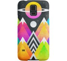 Saturn Peaks Samsung Galaxy Case/Skin