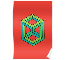 Impossible Shapes: Cube Poster