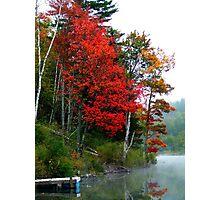 Autumn in Vermont Photographic Print
