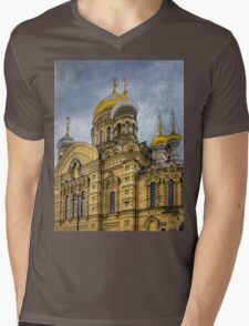 Church of the Assumption of the Blessed Virgin Mary - St. Petersburg Mens V-Neck T-Shirt
