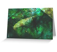 rainforest waters Greeting Card