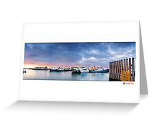 Fremantle Warf  Greeting Card