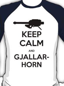 Destiny Keep Calm and Gjallarhorn T-Shirt