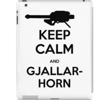 Destiny Keep Calm and Gjallarhorn iPad Case/Skin