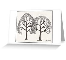 Overlap Greeting Card