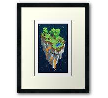 Minecraft HEXELS Framed Print