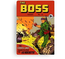 The Boss #12 Canvas Print