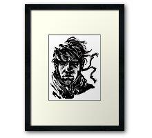 Metal Gear Sai Simple Framed Print