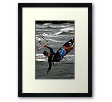 Reach Out And Touch The Water Framed Print
