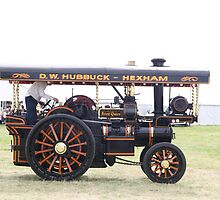 Traction Engine .  by Dahlia48
