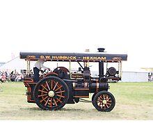 Traction Engine .  Photographic Print