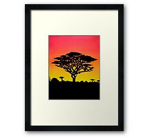 Meanwhile, In Africa Framed Print