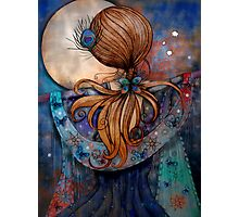 Dancing with the Moon Photographic Print