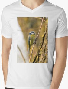Blue Tit On A Branch T-Shirt
