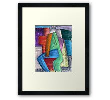 colorful friend Framed Print