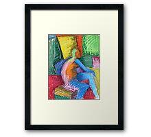 Color Man Framed Print