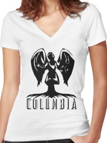 Columbia Women's Fitted V-Neck T-Shirt