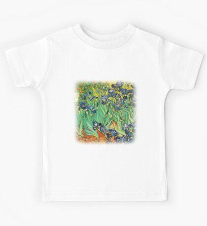 Irises, Vincent van Gogh Kids Tee