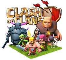 clash of clans char by steve bruke