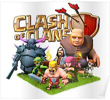 clash of clans char Poster