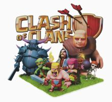 clash of clans char Kids Clothes