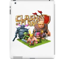 clash of clans char iPad Case/Skin