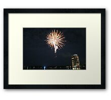 New Years Eve 09 Framed Print
