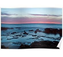 dusk at North Beach Poster