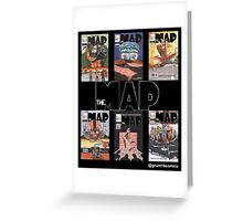 The Map First Six Covers Greeting Card