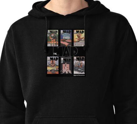 The Map First Six Covers Pullover Hoodie