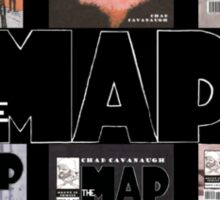 The Map First Six Covers Sticker