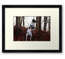I'm On A Hunt Framed Print