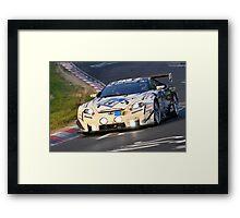 The Awesome Lexus LFA .... Framed Print