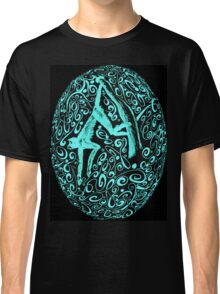 Aqua Monkey Egg  Classic T-Shirt