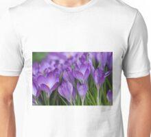 Crocussen in spring Unisex T-Shirt