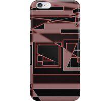 Hidden Mirror II - Red iPhone Case/Skin