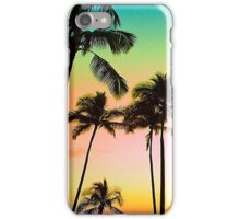 Neon Palm Sky iPhone Case/Skin