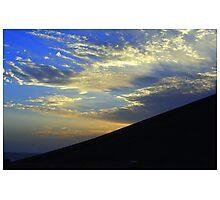 Dawn over Abu Simbel. Photographic Print