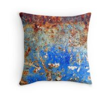 Autumn Blues Throw Pillow