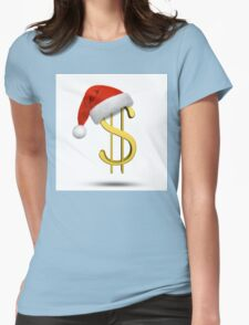 Christmas shopping Womens Fitted T-Shirt