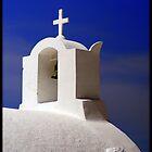 Santorini Chruch by kelliejane