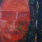 Red Glasses I by Enoeda