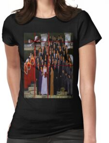 THE WEDDING Womens Fitted T-Shirt