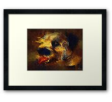 Butch painted Framed Print