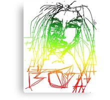 Rasta Marley Canvas Print