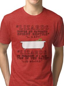 Lizards - Dan&Phil Tri-blend T-Shirt